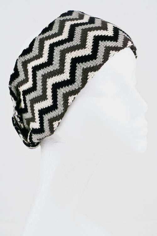 Chevron Knit Hair Band