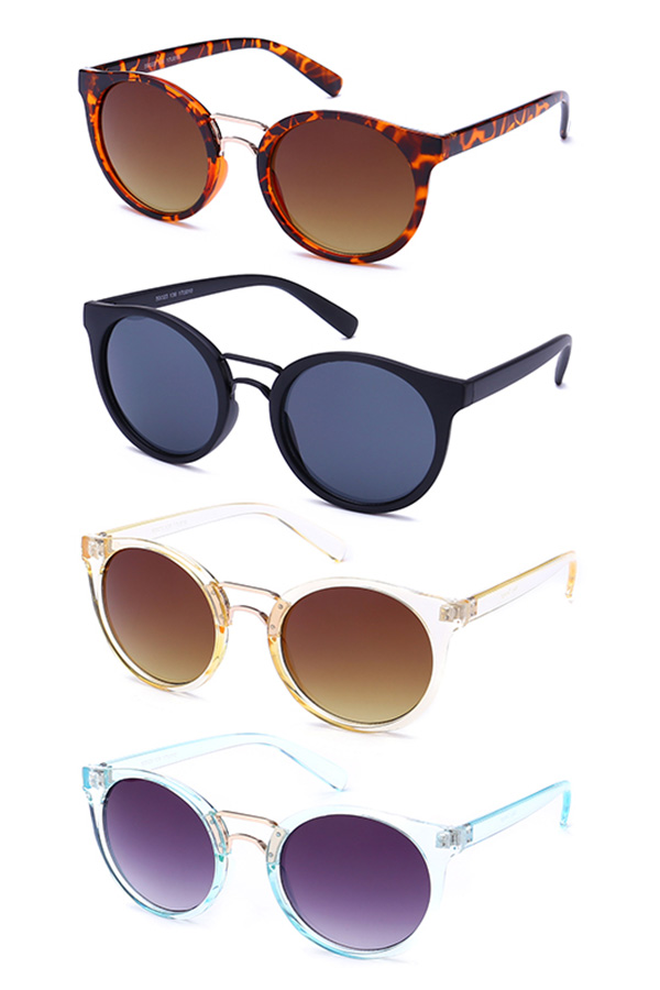 Oval Framed Aviator Sunglasses Pack
