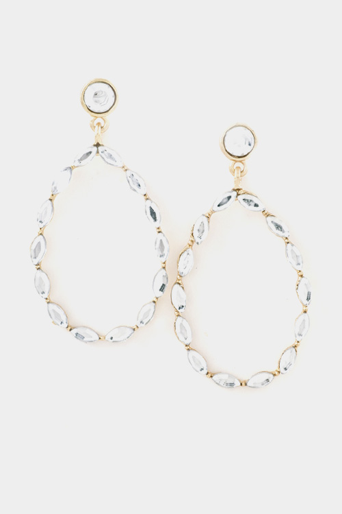 Crystal Dangle Earring