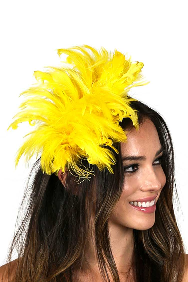 Adjustable Feather Hair Comb Insert