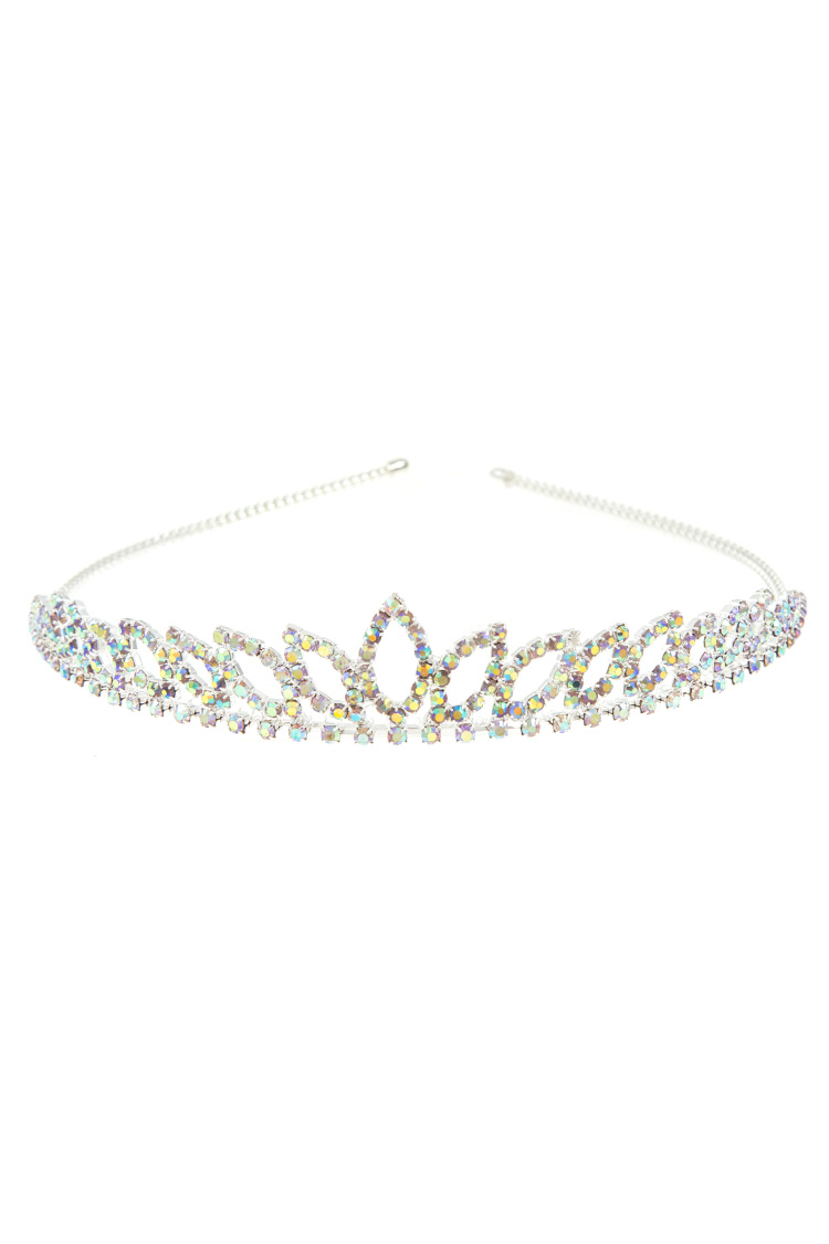Mini Rhinestone Wired Accent Tiara