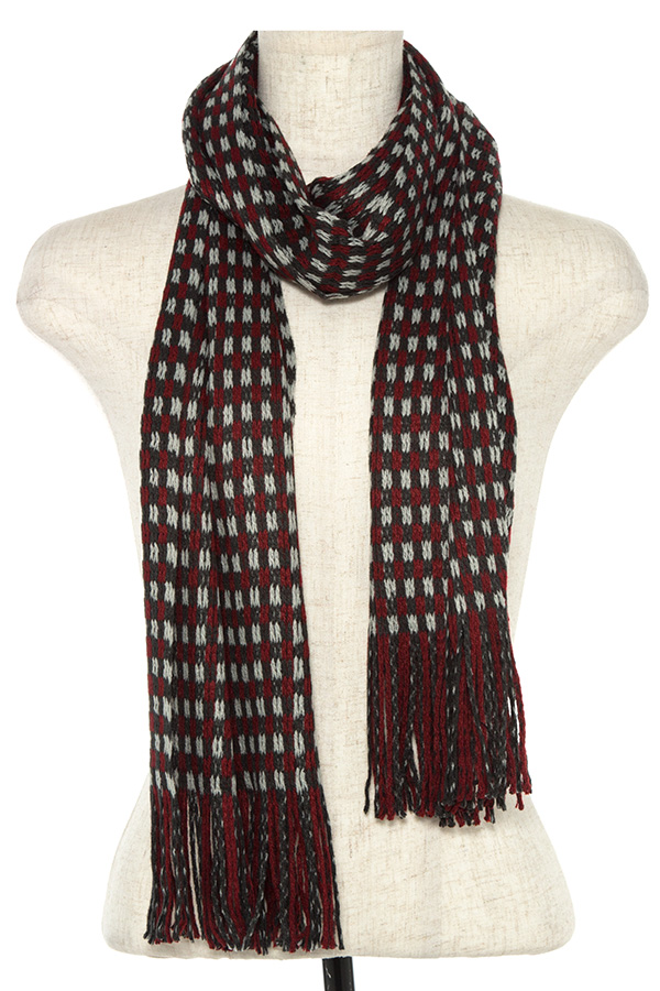 MULTI TONE OBLONG SCARF