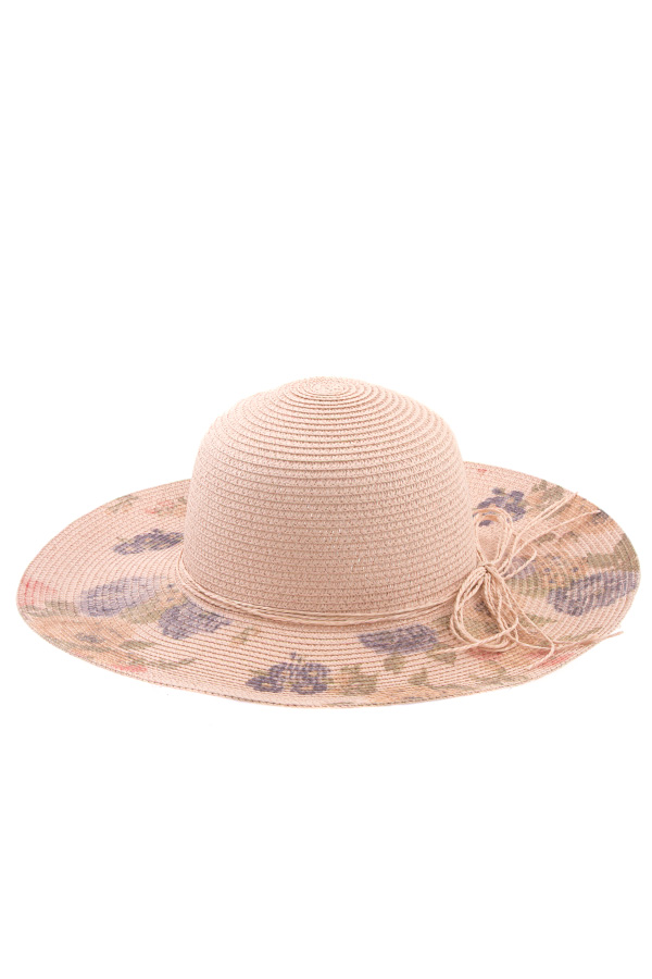 FLOWER BILL MULTI STRAND SUN HAT