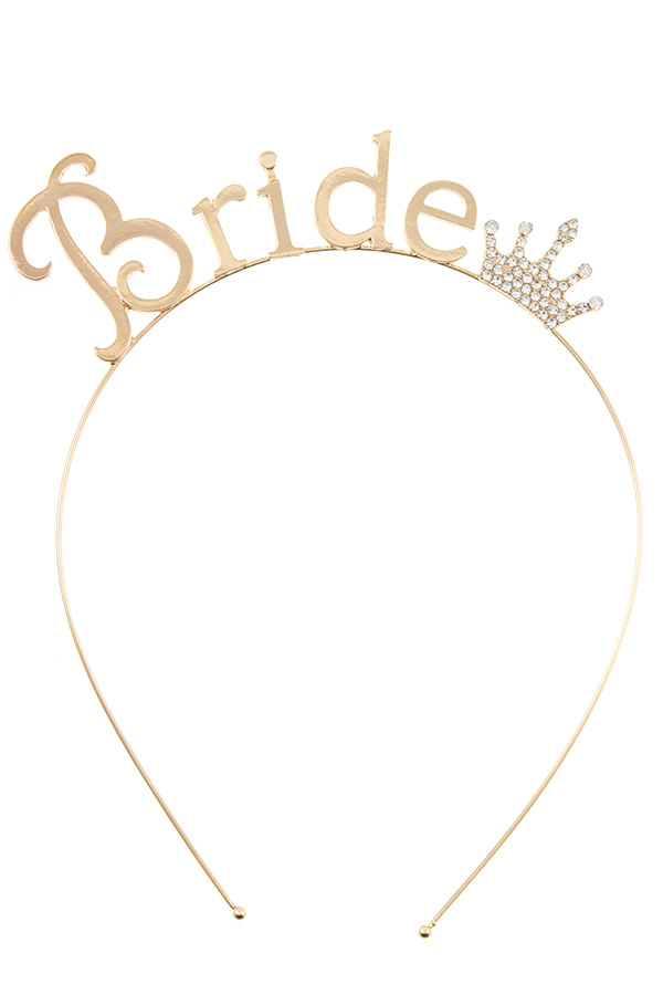 BRIDE ACCENT HEADBAND