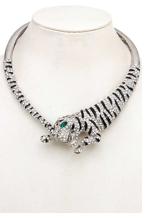 TIGER COLLAR HINGE NECKLACE