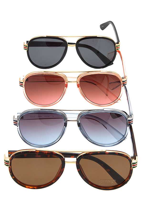 FASHION FRAMED SUNGLASSES PACK
