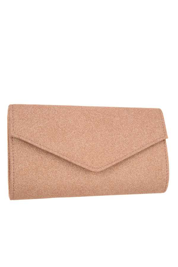 GLITTERED EVENING CLUTCH BAG