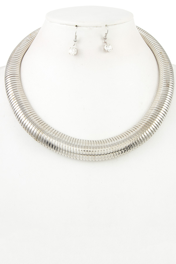 Omega Chain Necklace Set