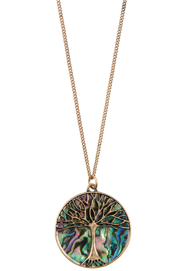 TREE OF LIFE PENDANT NECKLACE SET