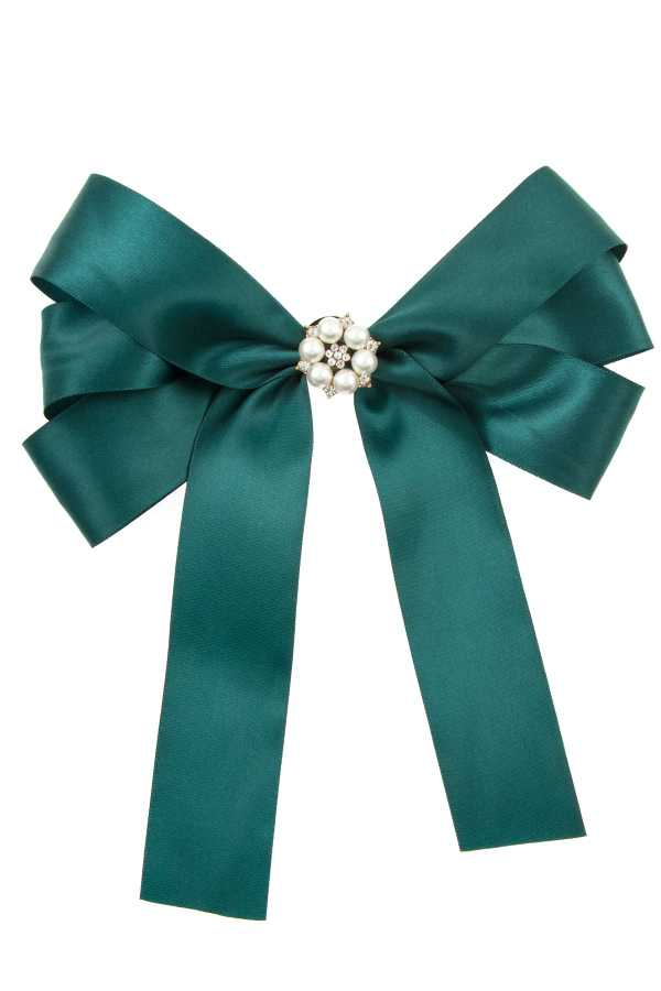 PEARL ORNATE BOW RIBBON