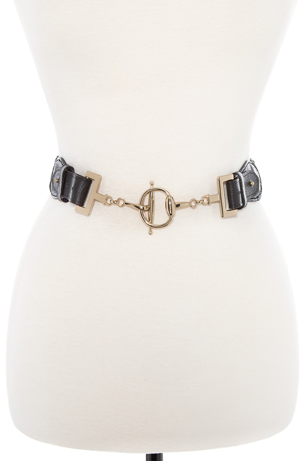 BRAIDED METAL LINK BELT