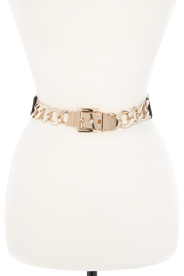 CHAIN LINK STRETCH BELT