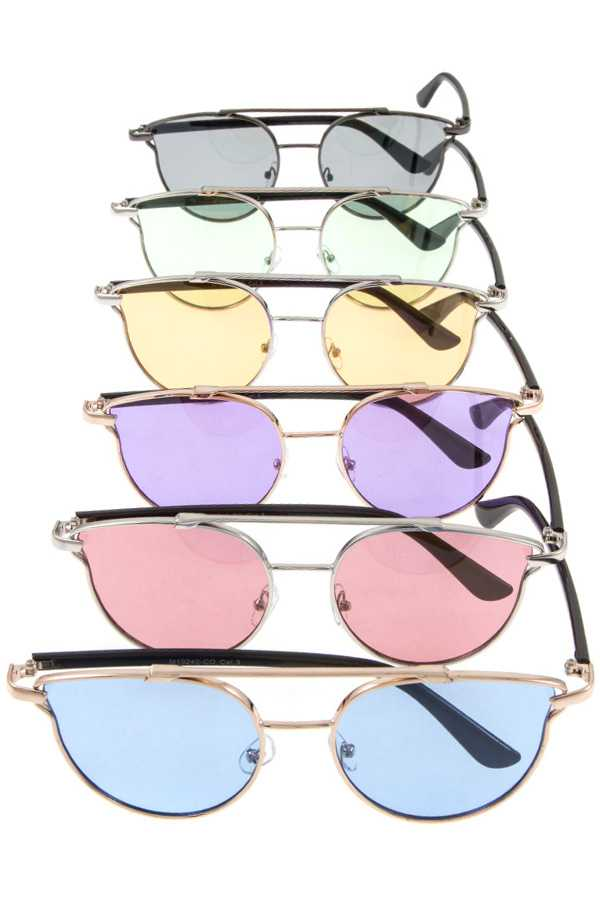 Round Lens Aviator Sunglasses Pack