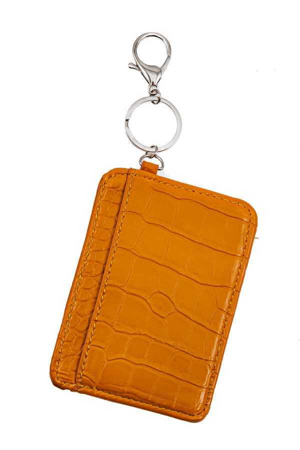 CARD WALLET TYPE KEYCHAIN