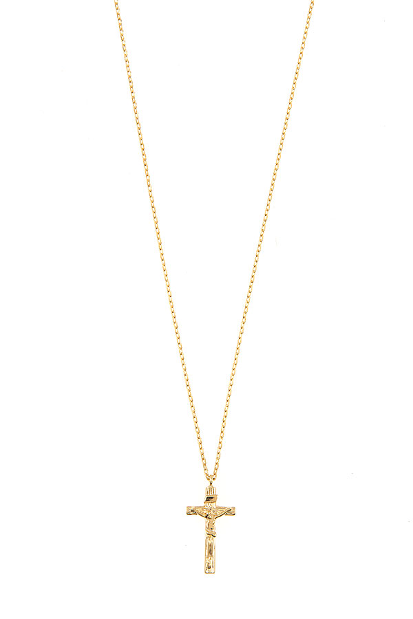 RELIGIOUS CROSS PENDANT NECKLACE