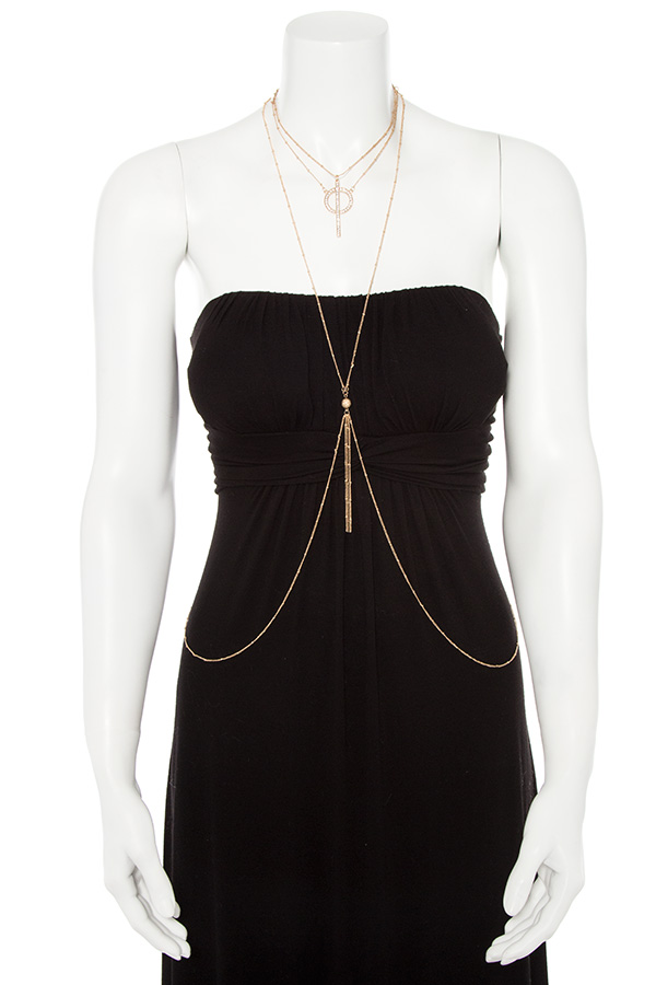 MULTI LAYERED DETACHABLE BODY CHAIN