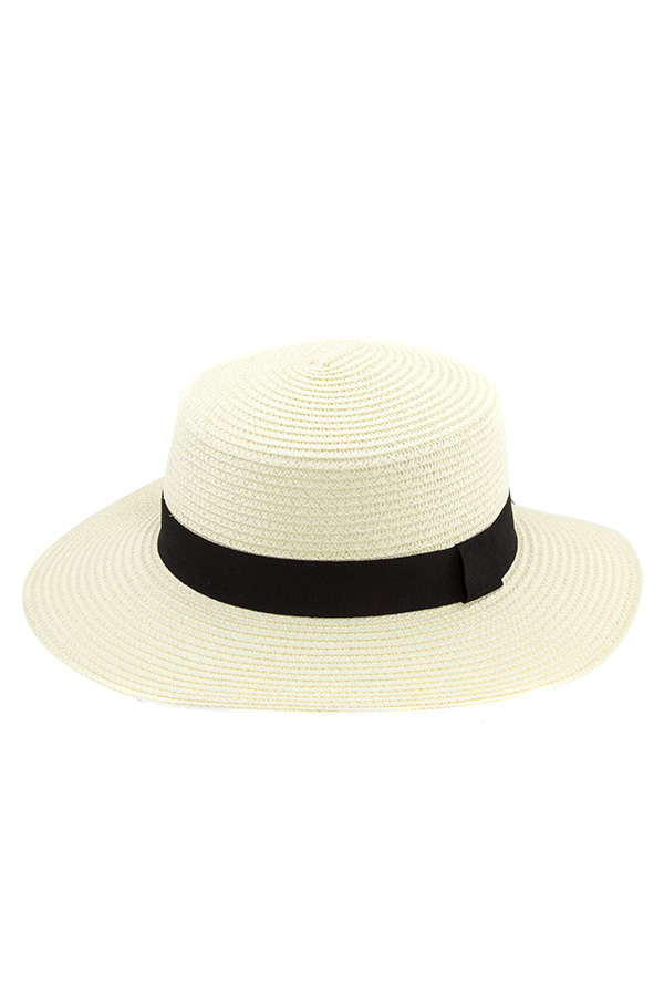 LEAF ACCENT FEDORA