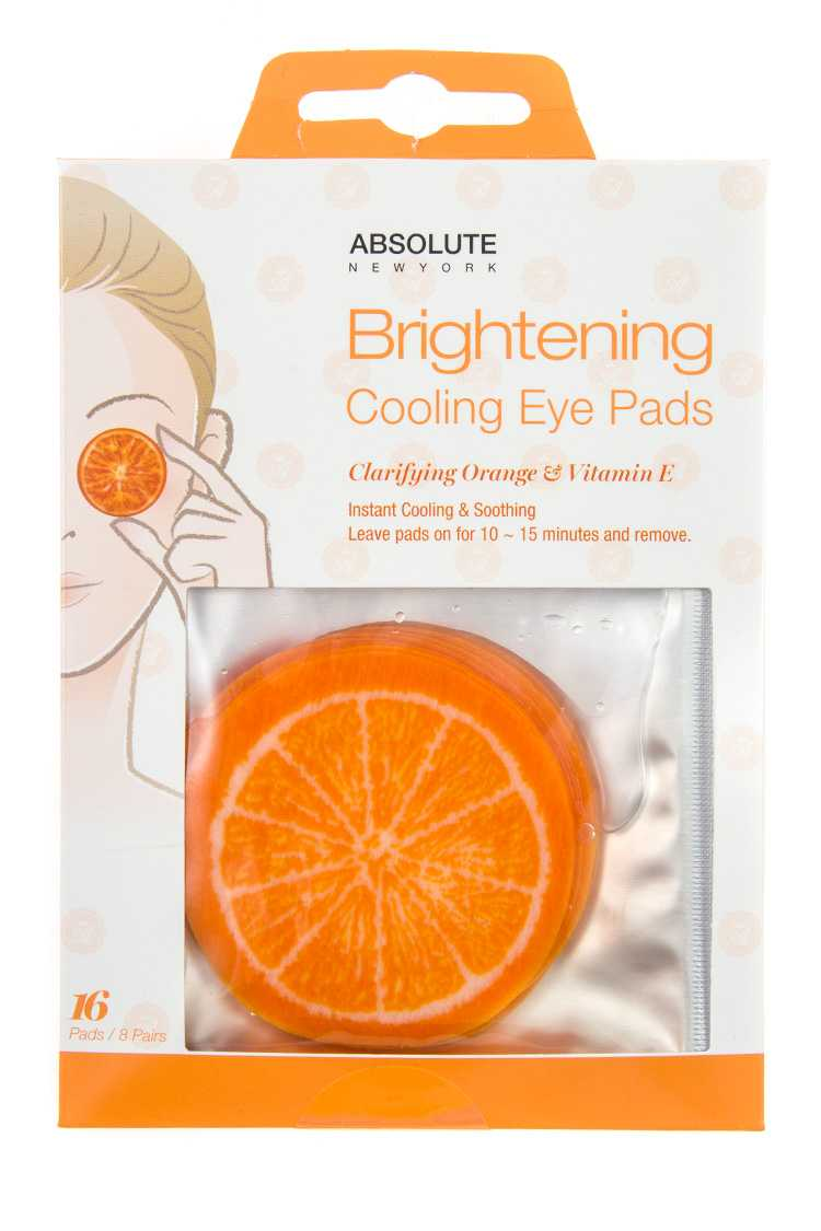 Brightening Cooling Eye Pads