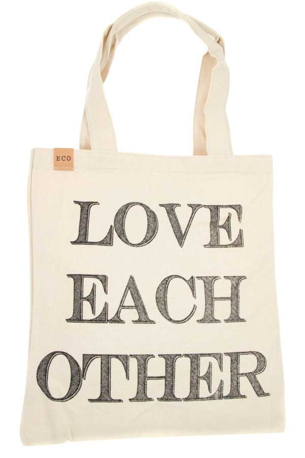 LOVE EACH OTHER ECO TOTE BAG