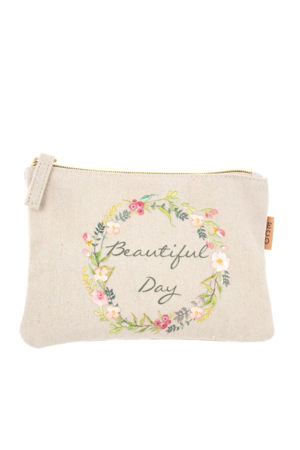 BEAUTIFUL DAY MINI POUCH BAG