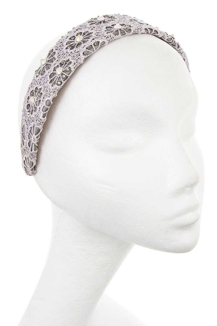 Flowers Pattern Lace Hair Band
