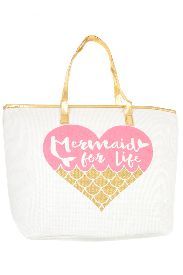 MERMAID FOR LIFE TOTE BAG