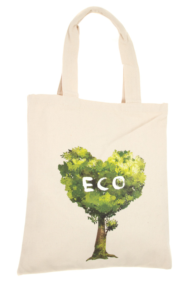 ECO HEART TREE TOTE BAG