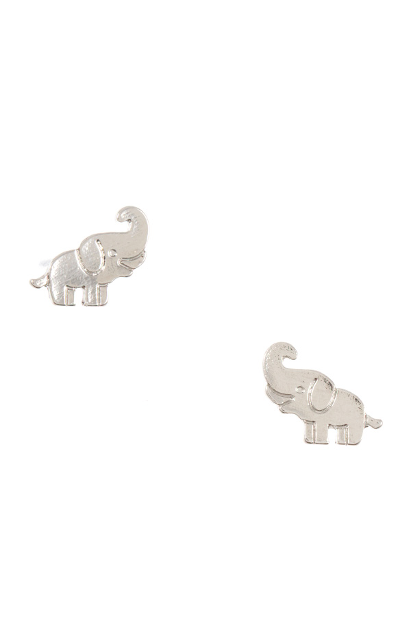 MINI ELEPHANT POST EARRING
