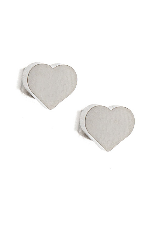 Heart Post Earring