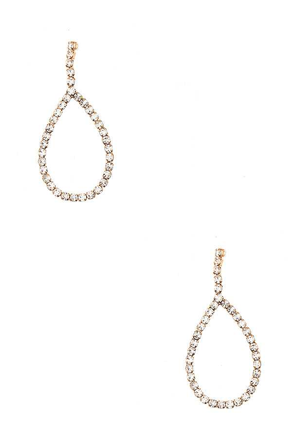 TEADROP DANGLE EARRING