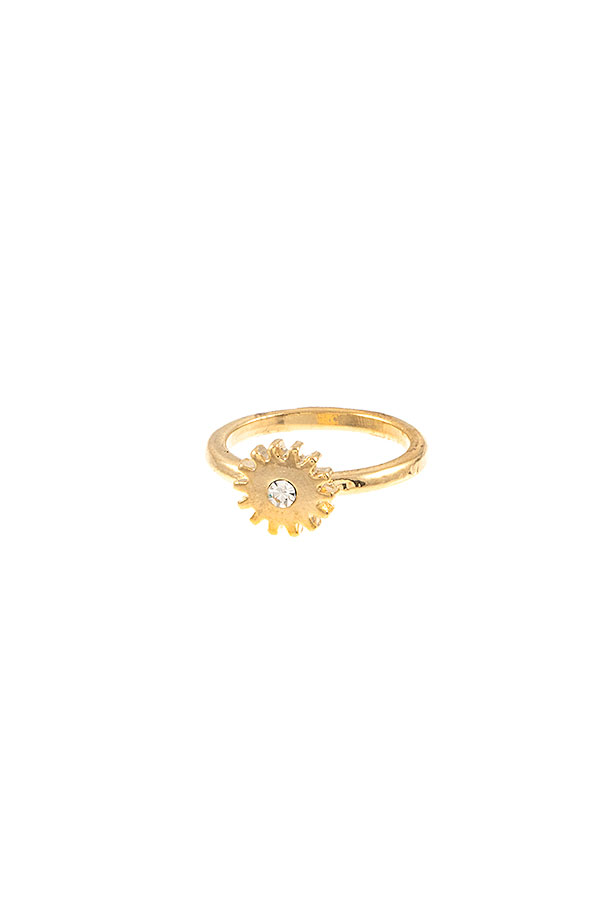 DAINTY BURST MID RING