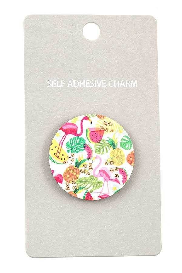 MIX FRUIT FLAMINGO CELLPHONE STICKER