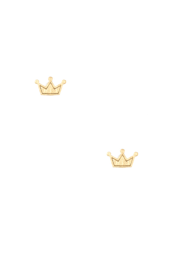 CROWN POST EARRING