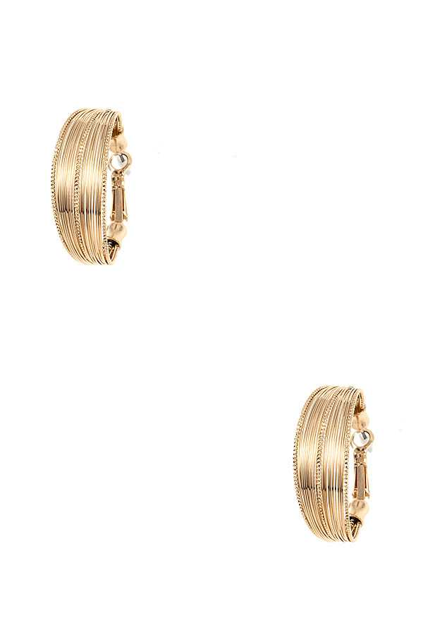 MULTI CIRCLE HOOP EARRING