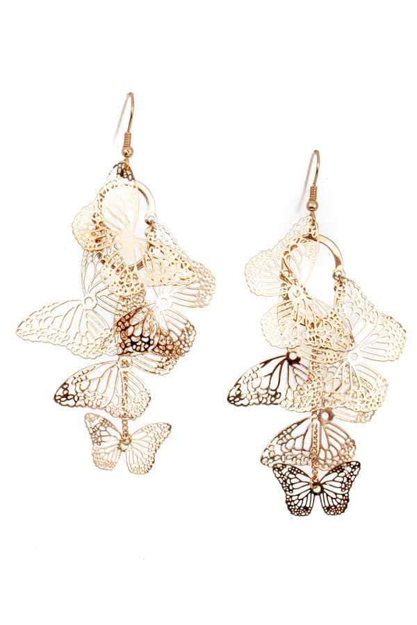 BUTTERFLY LIN DANGLE EARRING