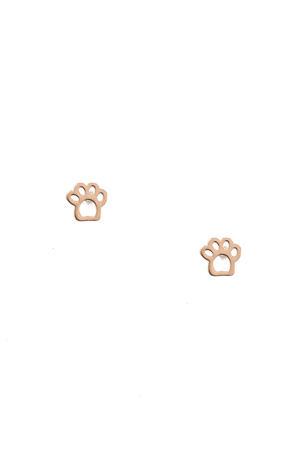 PAW POST EARRING