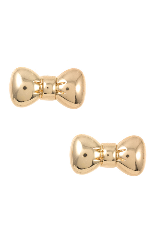 Bow Post Earring