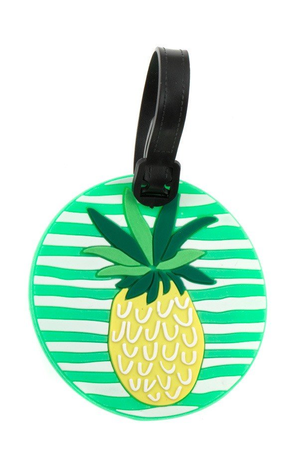 ROUND PINEAPPLE LUGGAGE ACCESSORY