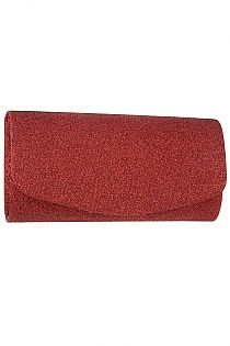 Glittery Detail Evening Clutch Bag